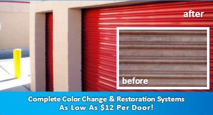 Door Refinishing System 401 D (Uses Endura Crylic)